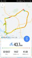 久々のサイクリング!