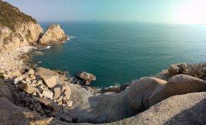 万山島の旅-①:ここが遊泳島ヾ(´∇`)ノ゙