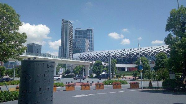 シンセン体育中心 の人才公園\(^▽^)/