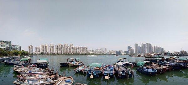 蛇口の漁港