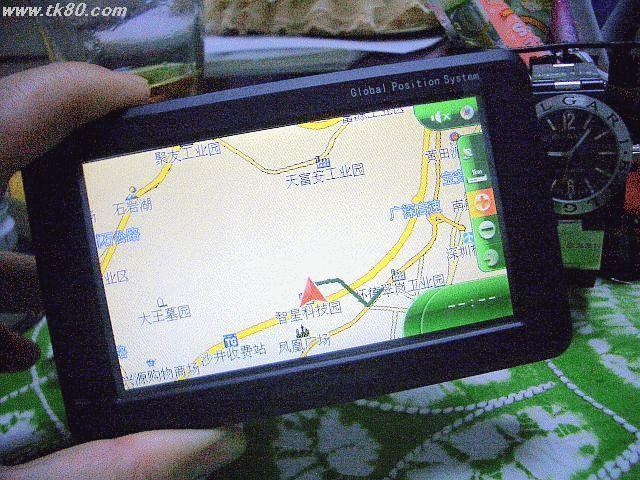 これが中国製のGPSです
