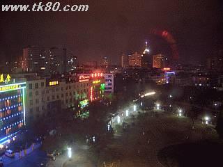 喜来登大酒店からの夜景です
