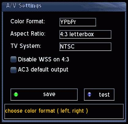 「System Setting」-「AV-System」を「PAL」や「Multinorm」に設定するとソレは発生します。