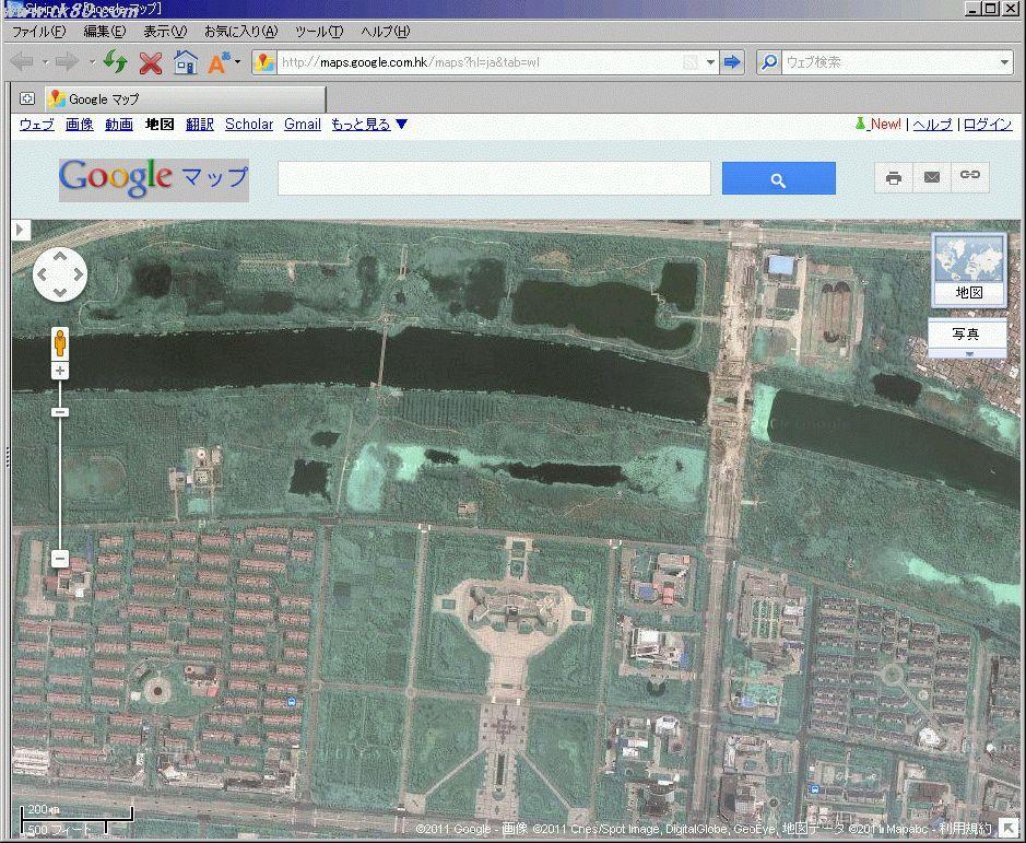 GoogleMapsでみると写真の様になります