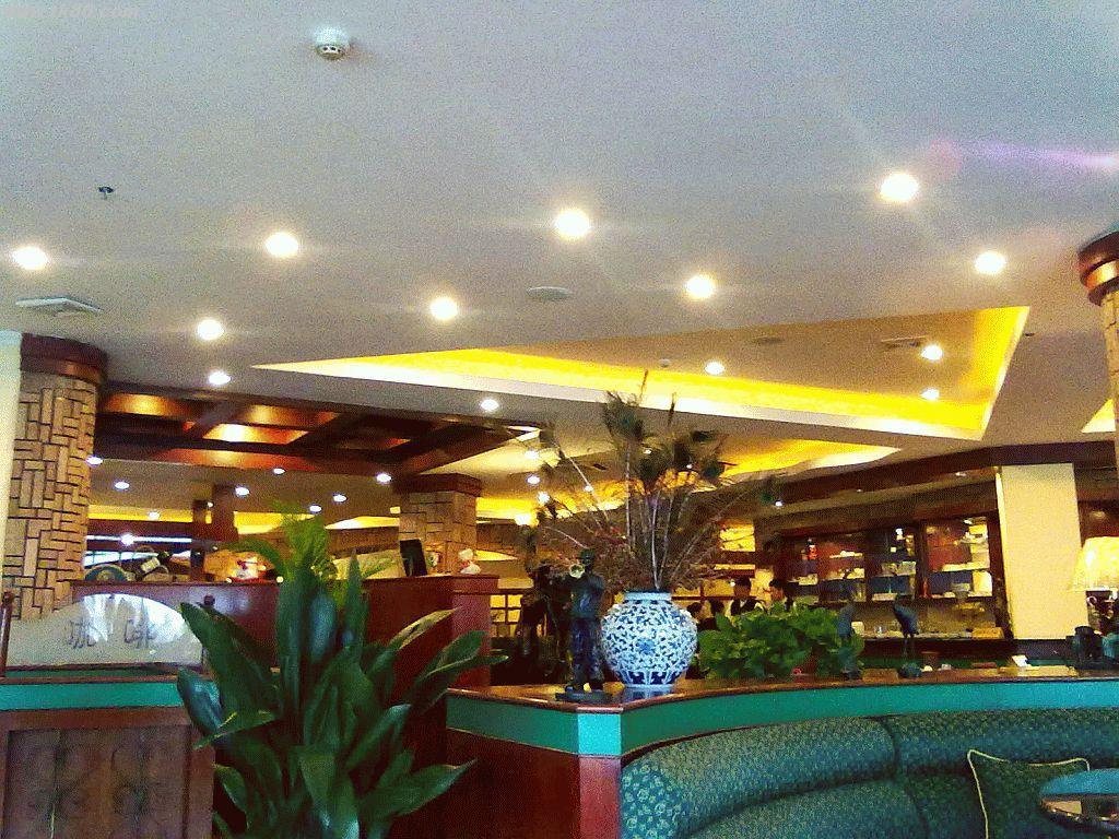 上島珈琲の店内です。